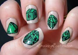 Chic Geek Nail Art Manicures Walyou, geeky nail art - Nails