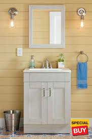 Custom bathroom vanities ideas Grey 24 Bathroom Vanities The Home Depot