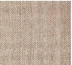 chevron wool jute rug mocha pottery barn