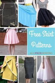 Skirt Patterns Mesmerizing 48 Free Skirt Patterns AllFreeSewing