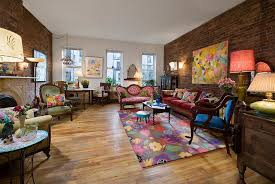 ... Modern Victorian Living Room With A Colorful, Eclectic Touch [Design:  Kim Parker Interiors