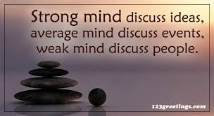 Strong Mind Quotes Adorable Strong Mind Discuss Free Inspirational Quotes ECards Greeting