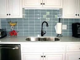 light gray glass subway tile grey kitchen inspiring design ideas using white backsplash grout