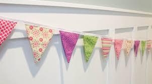 Fabric banners diy Birthday Bunting Banner Picture Guide Patterns Bunting Banner 27 Howtos Guide Patterns