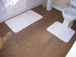 Hardwood Floor Bathroom Is It Ok To Put Laminate Flooring In A Bathroom