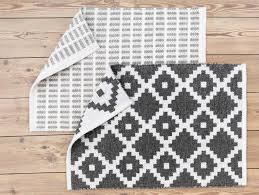 free delivery for orders over 500 home elma wool black white rug