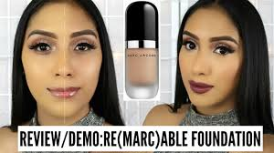 review first impressions marc jacobs re marc able full cover foundation concentrate you