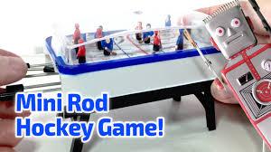 1997 pocket rod hockey working miniature game by basic fun