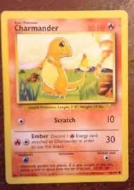 1995 Rare Pokemon Card Charmander! | Ebay