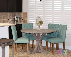 farmhouse round dining table builders showcase built from the design confidential diy furniture ideas