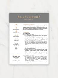 Resume Template Modern Resume Resume Template Instant Download Resumes Cover Letter References Mac Pc
