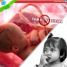 stop female foeticide save the girl child my  stop female foeticide