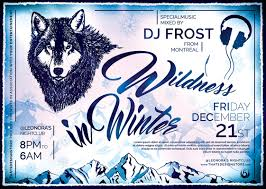 wildness in winter flyer template tds psd flyer templates wildness in winter flyer template