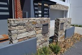 exterior wall stone cladding natural