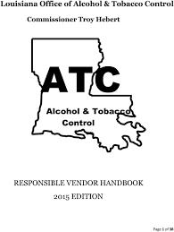 alcohol control responsible
