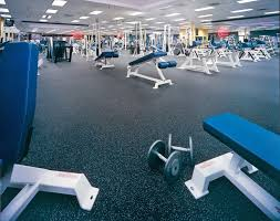 high quality rubber synthetic flooring for health clubs weight rooms gyms