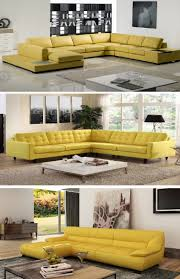 Yellow Leather Sofa Set In 2019 Sofa Set Leather Sofa Set