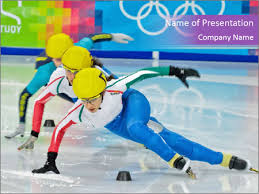 Olympic Games Powerpoint Template Infographics Slides