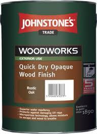 Johnstones Quick Dry Opaque Wood Finish