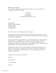 9 10 Examples Of Simple Cover Letters For Resumes