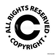 All Rights Reserved Symbol Copyright All Rights Reserved Buy This Stock Vector And