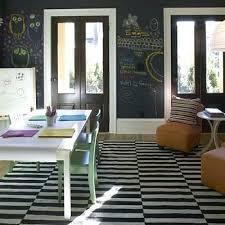 ikea black and white rug gray