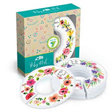 <b>Baby</b> Nest Designs Closet Dividers for <b>Baby Clothes</b> [<b>Floral</b> Bouquet]