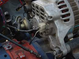 79 sa alternator upgrade rx7club com in pix 1 the s5 alternator s extra wire connects to the loose wire shown in pix 2