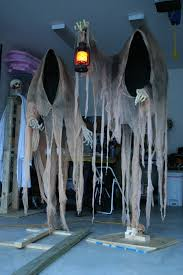 ... Halloween Decorations. 3. Creepy Ghost Stands