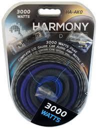watt amp wiring kit solidfonts renegade ren10kita 8 gauge amplifier installation kit power wire