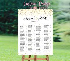 Wedding Seating Chart Template Wedding Seating Chart Poster