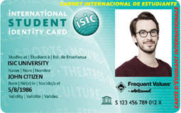 Travel Cards Isic Sta Discount