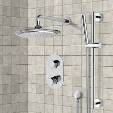 shower faucet remer sfr7407 chrome thermostatic shower system with 9