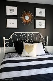 Guest Bedroom Refresher Modern Bedroom Decor Pinterest Bedroom Inspiration Black And White Modern Bedroom Decor Collection