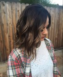 Perfect Caramel Balayage Highlights Dark Brown