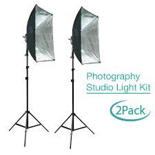 Photo Studio Lighting Kit Ebay Details About Photography Studio Lighting Kit W Led Light Head Stands Softbox Reflectors