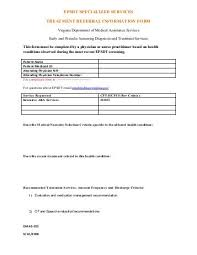 Letter Of Medical Necessity Form