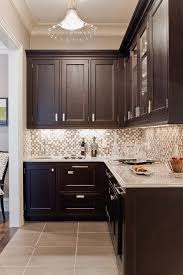 Kitchen With Glass Tile Backsplash Mesmerizing Backsplashes Glass Tile And Stone In 48 My Future Home