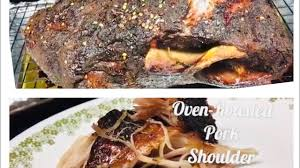 easy oven roasted pork shoulder