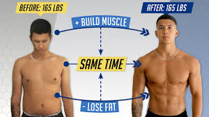 how to lose fat and gain muscle at the