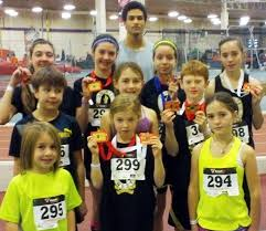 fanjoy. quinte west track club members earned 14 medals at their first indoor meet of the season fanjoy