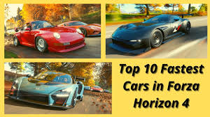 Horizon backstage was added to forza horizon 4 during series 28. Top 10 Fastest Cars In Forza Horizon 4 What Are The Fastest Cars In Forza Horizon 4