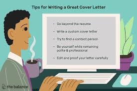 top cover letter top 10 cover letter writing tips