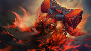 dota 2 earthshaker everlasting strength hero loading screen wings