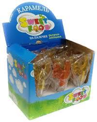 <b>Карамель Sweet</b> Food Петушок 30 шт. — купить по выгодной ...