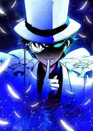 Conan (Kaito Kid) Metal Poster | Kaito kid art, Magic kaito wallpaper, Kaito