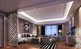 3D Design Minimalist Ceiling In Master Bedroom