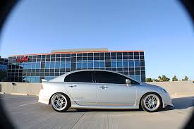 2007 Civic Si Sedan Rides on KSport Kontrol Pro Coilovers | Ksport USA