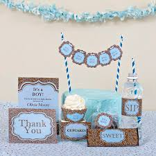 Deluxe Party Kits- It's a Boy