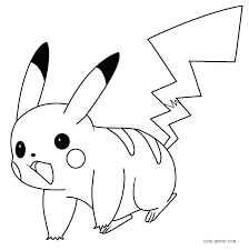 pikachu coloring pages coloring pages free pokemon pikachu coloring pages